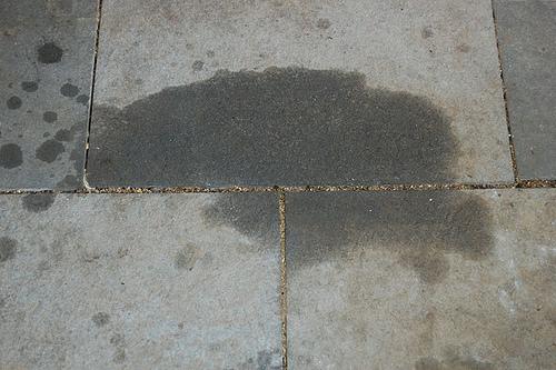 Vết mỡ bẩn dầu mỡ