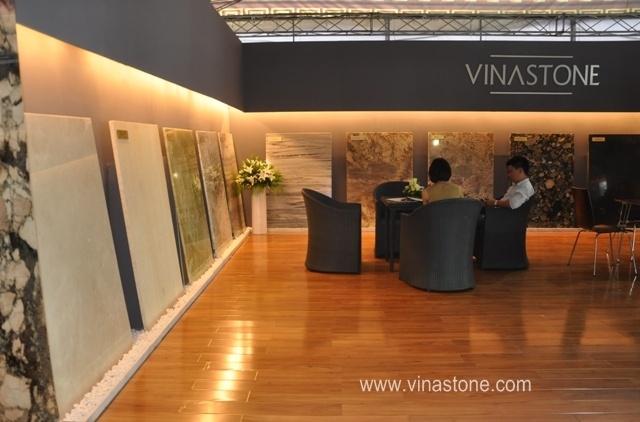 Vinastone tham gia Vietbuild Hồ Chí Minh 2013
