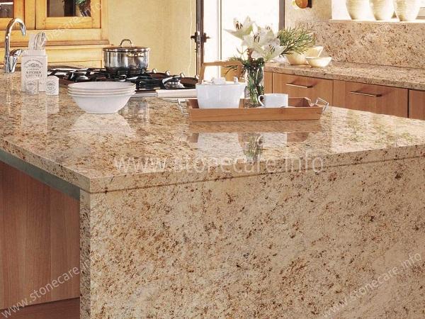 Cách chăm sóc mặt bàn bếp Granite