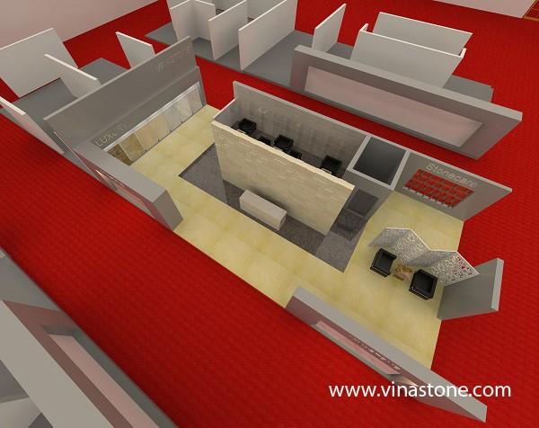 Vinastone tham gia triển lãm quốc tế xây dựng Vietbuild Hồ Chí Minh 2014