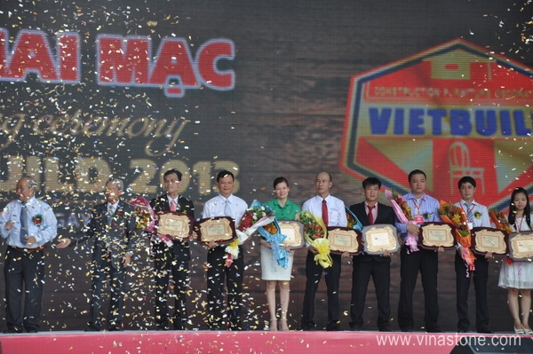 Tưng bừng khai mạc Vietbuild Hồ Chí Minh 2013