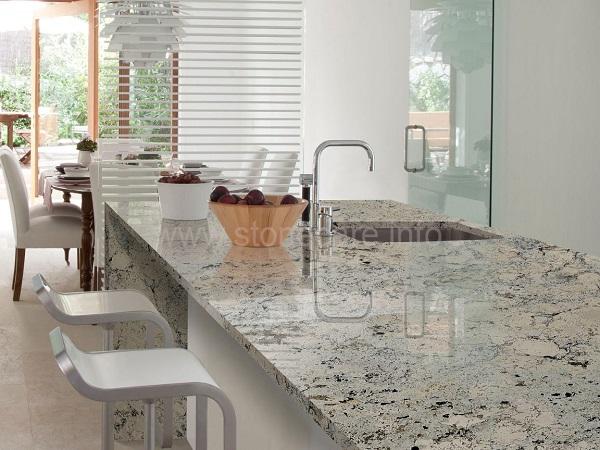 Loại bỏ vết xà phòng trên bề mặt đá Granite