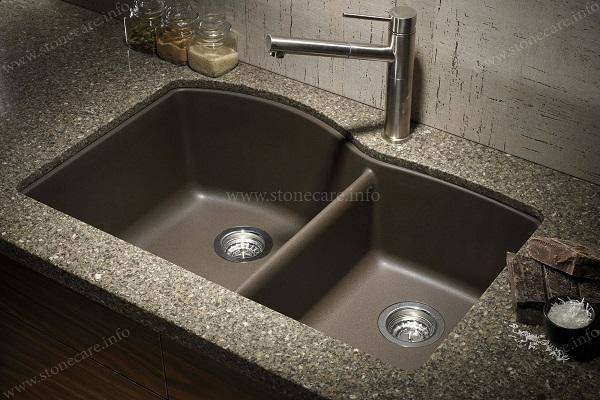 Cách vệ sinh bồn rửa Granite