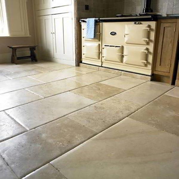 Cách vệ sinh sàn đá Limestone - phần 1